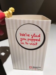 Sensory Branding Travelodge Welcome Popcorn
